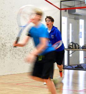 Nu spelas det åter squash i Oskarshamn.